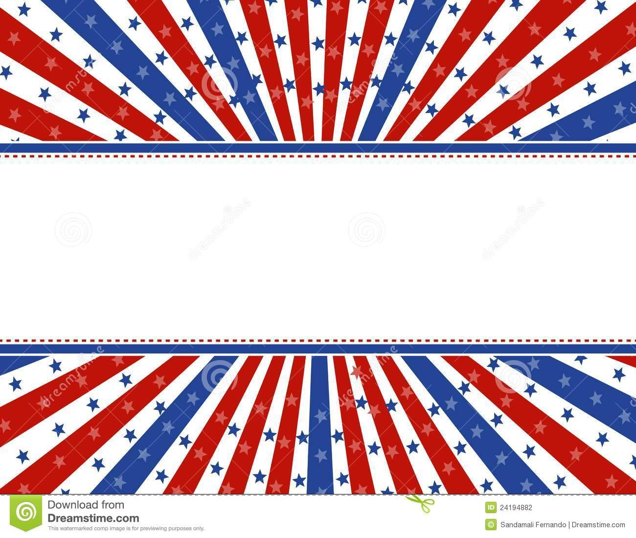 Patriotic border background | Clipart Panda - Free Clipart ...