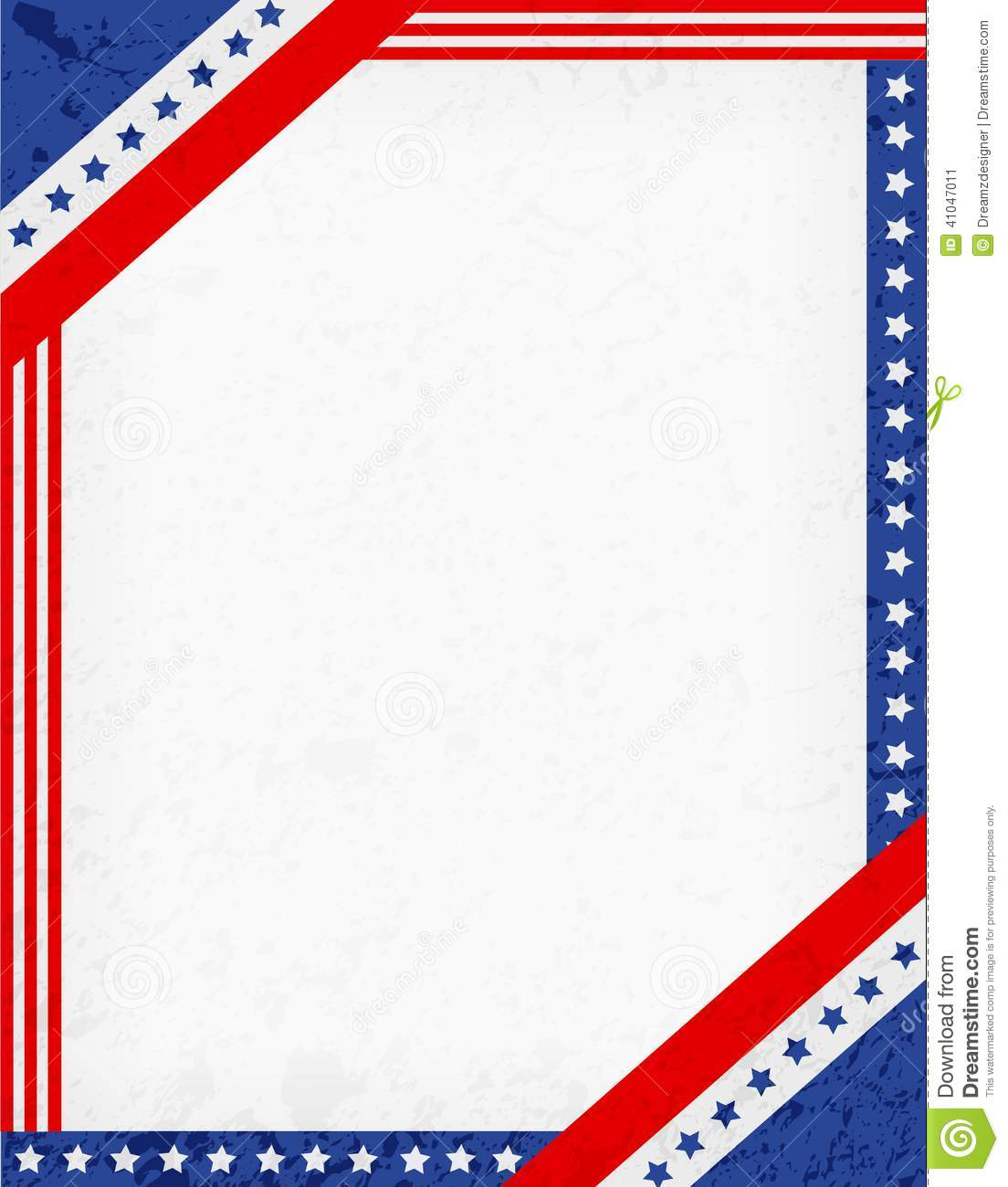patriotic-star-border-clip-art-patriotic-border-red-blue-american-flag    Vintage American Flag Border Clip Art