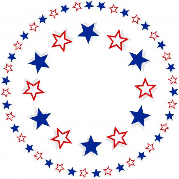 patriotic star border clip art clipart panda free clipart images