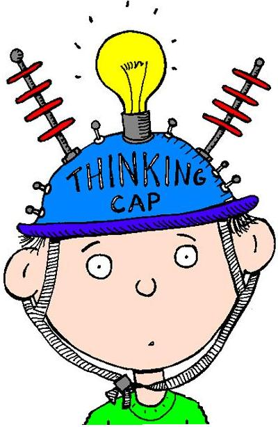 Animated Thinking Cap Thinking Cap Put on Clipart