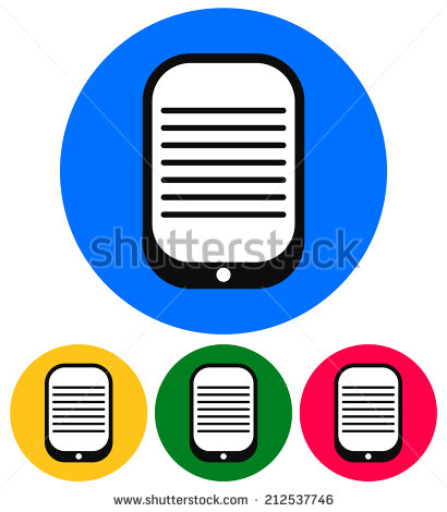 Pda Ebook Reader Icon Clipart Panda Free Clipart Images