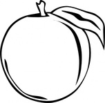 Plum Clipart Black And White | Clipart Panda - Free Clipart Images
