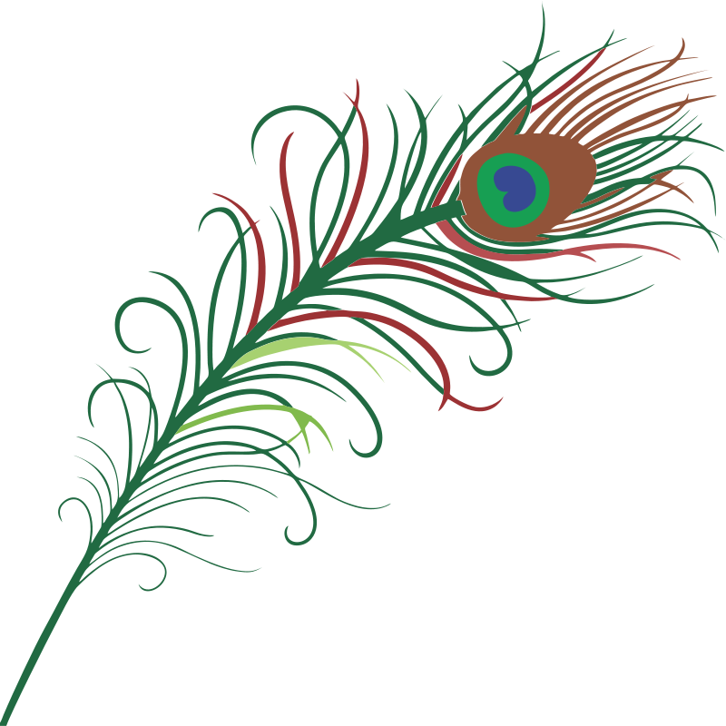 This peacock feather clip art | Clipart Panda - Free Clipart Images