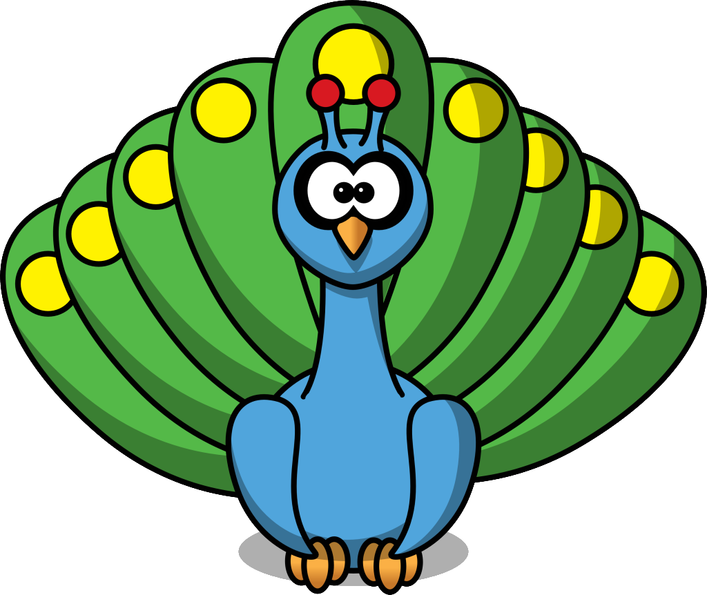 baby peacock coloring pages clipart panda free clipart images