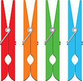 603 clothespin clip art vector | Clipart Panda - Free ...