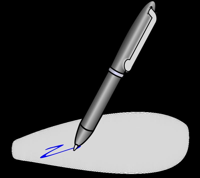Pen Clip Art Black And White | Clipart Panda - Free ...