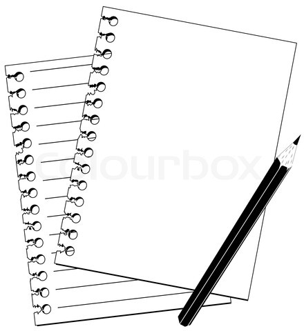 Notebook Clip Art Black And White | Clipart Panda - Free ...