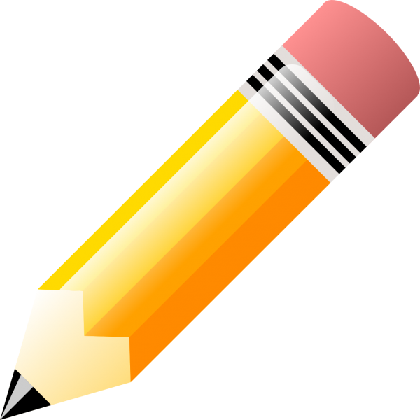 Image result for pencil clipart no background