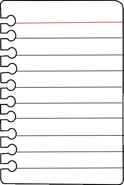 Clip Art Notebook Paper Clipart notebook paper and pencil clipart panda free clipart
