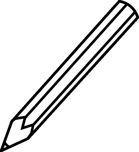 Pencil white. Clipart black and panda