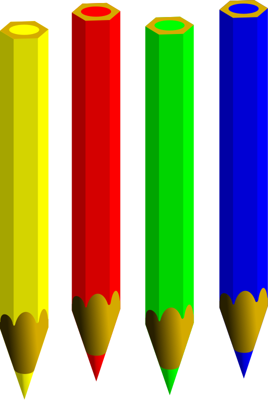 Colored Pencils Clipart   Clipart Panda - Free Clipart Images