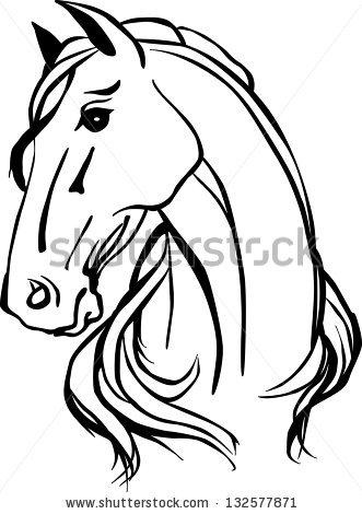 Clip Art Horse Head Clipart tribal horse head clip art clipart panda free images