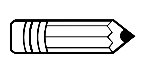 Line Drawing Pencil : Pencil clip art black and white clipart panda free