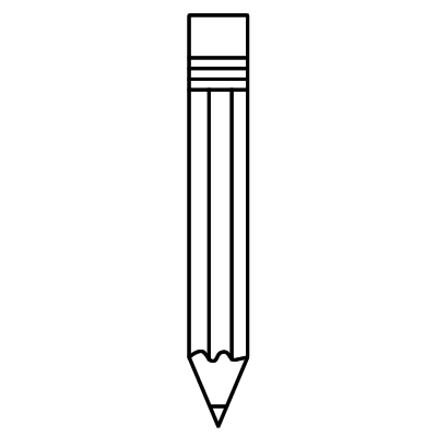 Pencil And Paper Clipart Black And White | Clipart Panda ...