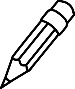 Pencil Writing On Paper Clipart | Clipart Panda - Free Clipart Images