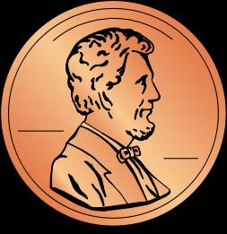 Penny Clip Art