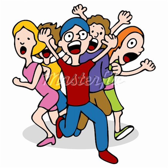 People Running Scared Clipart | Clipart Panda - Free Clipart Images