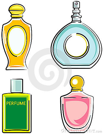 Perfume bottles (Vector) | Clipart Panda - Free Clipart Images