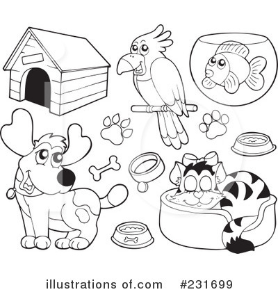 pet clip art black and white clipart panda free
