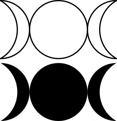 Moon phases clip art | Clipart Panda - Free Clipart Images