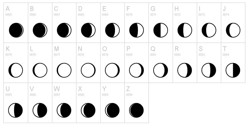 Moon Phase Clip Art Black And White Phrase clip art clipart panda ...