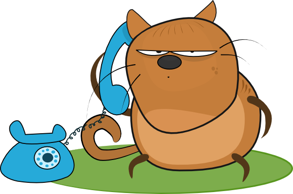 Talking On The Phone Clipart | Clipart Panda - Free ...