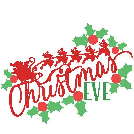 phrase20clipart - Christmas Eve Clipart