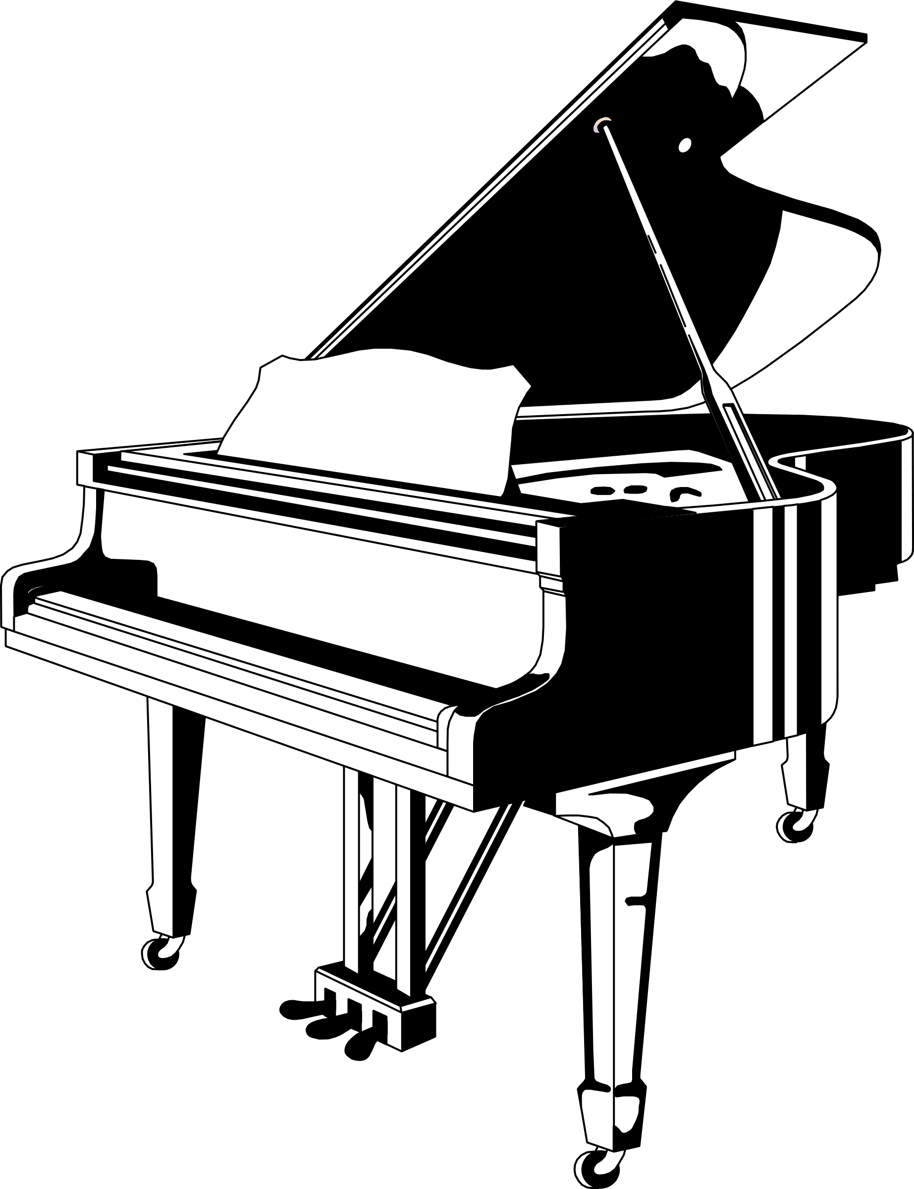 piano clipart black and white clipart panda free piano clipart black and white piano clip art free images