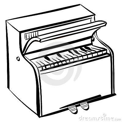 Piano outline. Jpg clipart panda free