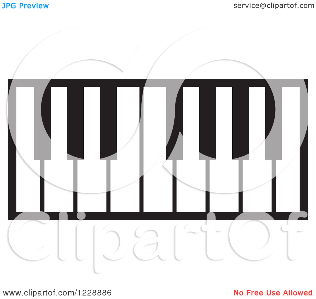 piano%20keyboard%20clipart%20black%20and%20white
