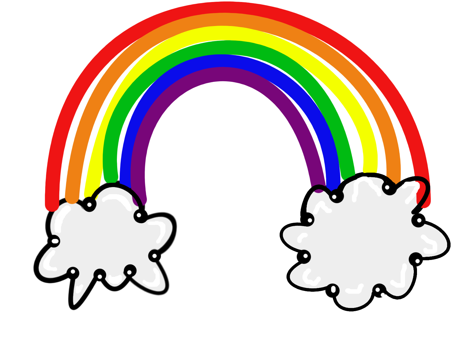 Clip Art Clip Art Rainbow rainbow clipart for kids panda free images