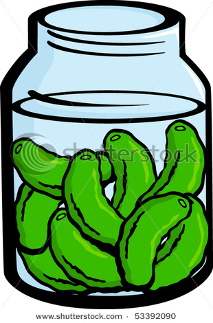 pickle-clipart-Pickled_Pickles_In_a_Pickle_Jar_Vector_Clipart ...