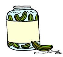 Vegetables   ClipartsPickle Jar Clip Art
