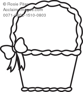Baket Of Apples Coloring Page