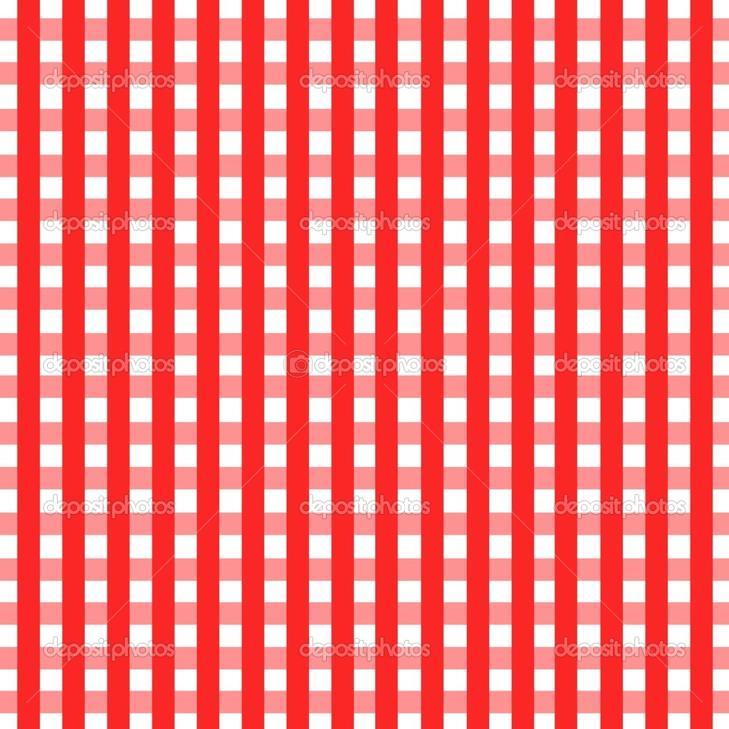 Table With Tablecloth Depositphotos_21327833 Checkered Tablecloth