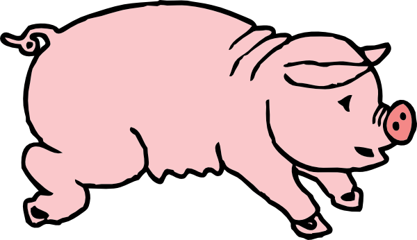 pig clip art pictures clipart panda free clipart images rh clipartpanda com clipart of a pig black and white clipart of a big heart