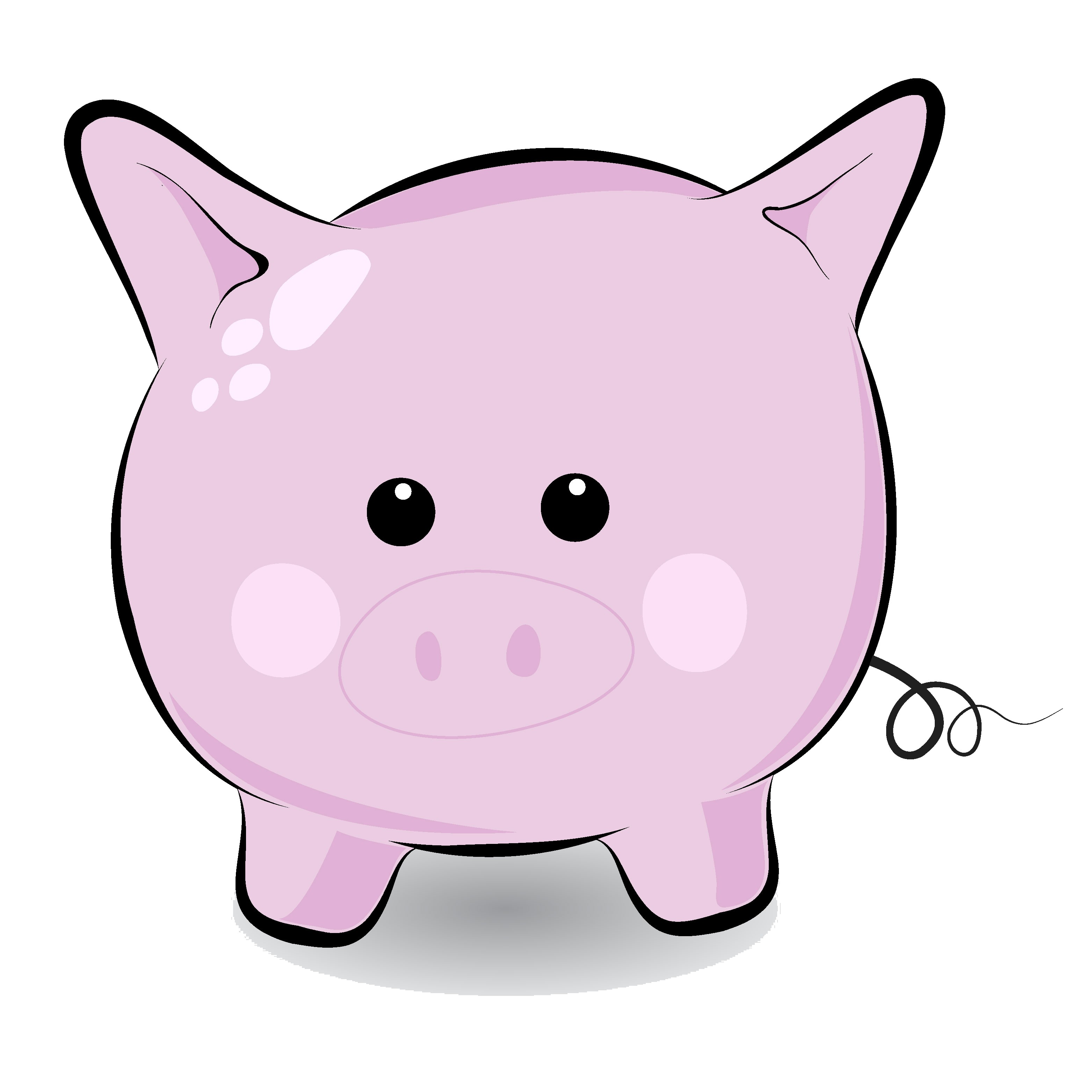 Pig clip art pictures clipart panda free clipart images pig clip art voltagebd Image collections