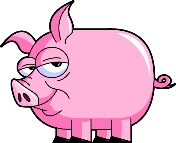 Pig clip art clipart panda free clipart images clipart info voltagebd Image collections