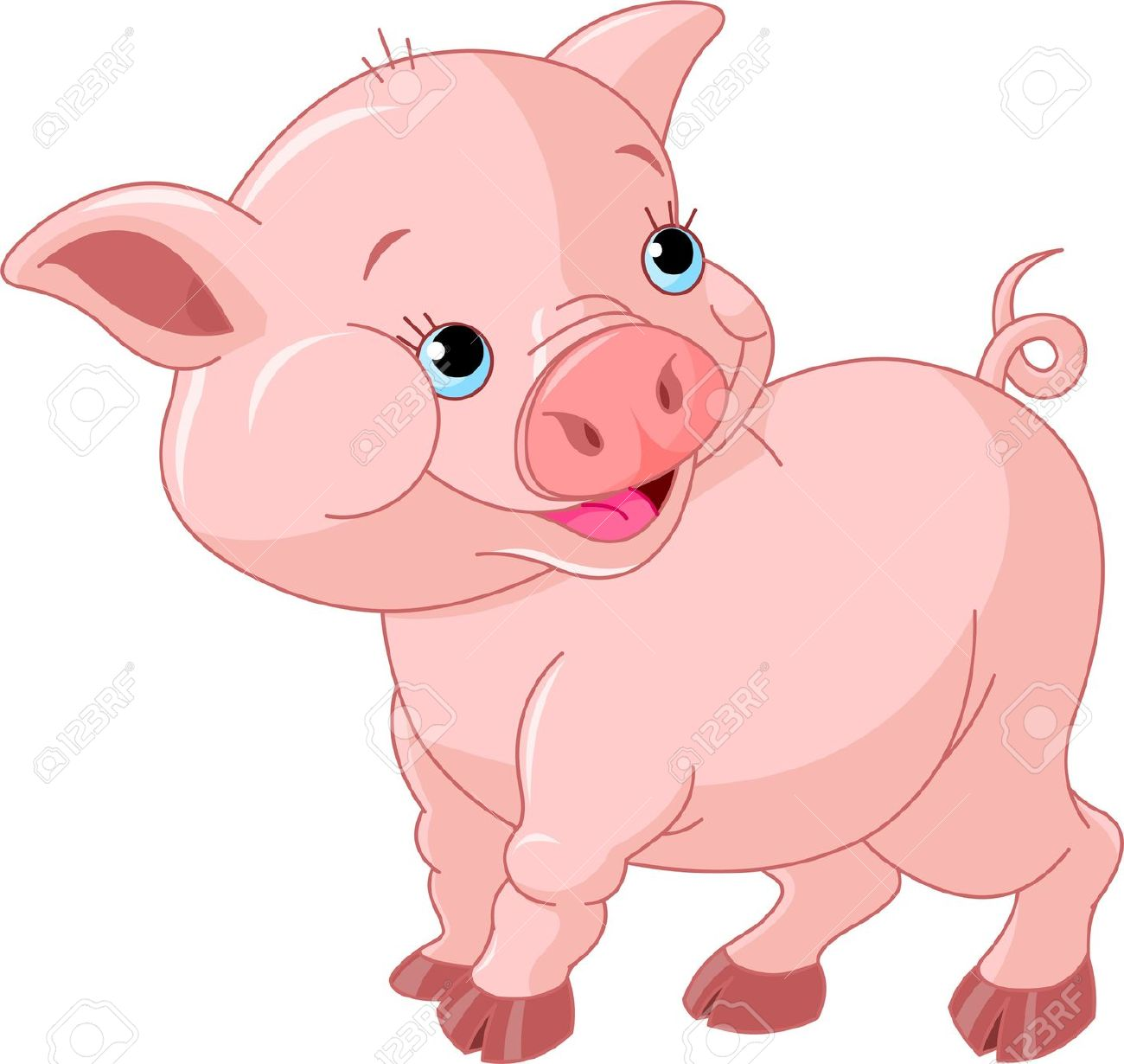 pig clip art cartoon clipart panda free clipart images rh clipartpanda com cartoon pig clipart free Pig Baby Shower