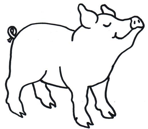 Pig Clipart Barbeque Clipart Panda