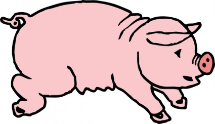 Pig Clipart Black And White Clipart Panda Free Clipart