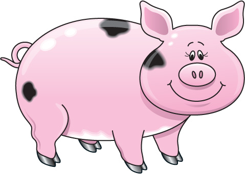 pig clip art cartoon clipart panda free clipart images rh clipartpanda com clip art of pigs ears free clipart of pigeons