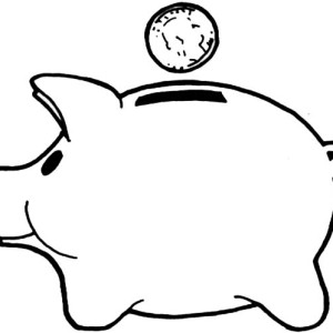 money box coloring pages - photo#2
