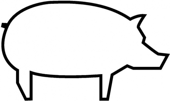 Piggy Bank Clipart Black And White