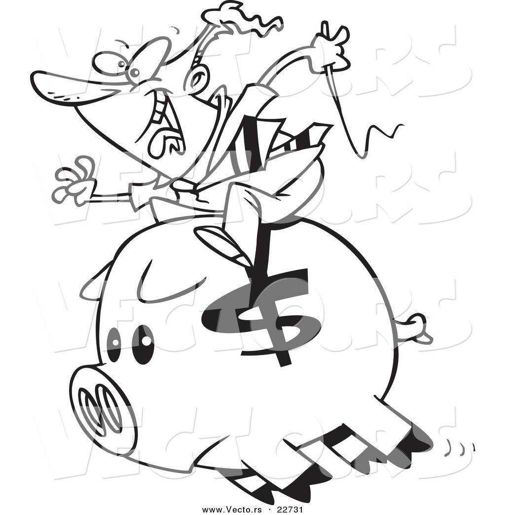 bank themed coloring pages - photo#45