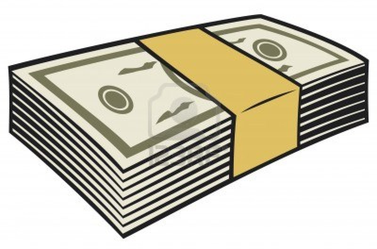 Money Stack Clip Art Stack Of Money Clipart...
