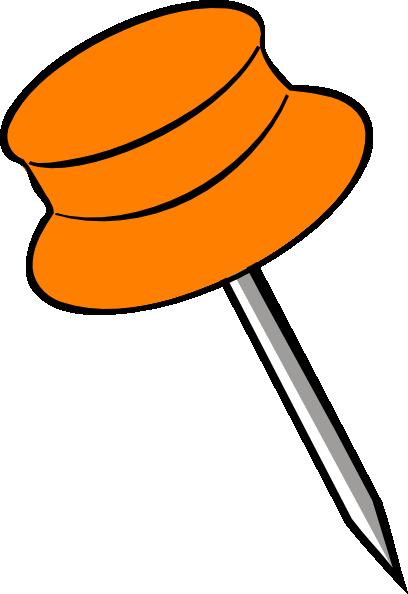 free orange push pin clip art clipart panda free clipart images rh clipartpanda com push pin clipart transparent background red push pin clipart
