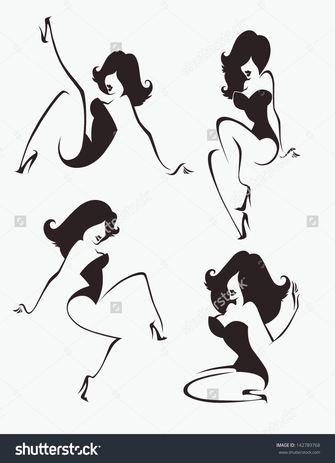 pin up girls clip art clipart panda free clipart images rh clipartpanda com vintage pin up girl clipart free Pin Up Girl Gum Clip Art