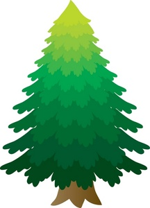 Pine Trees Clip Art - Synkee