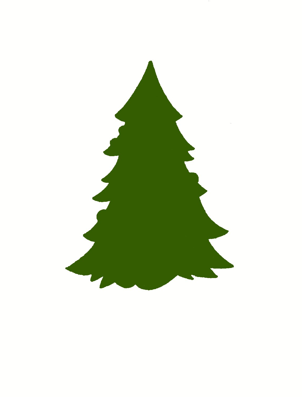Pine Trees Silhouette | Clipart Panda - Free Clipart Images